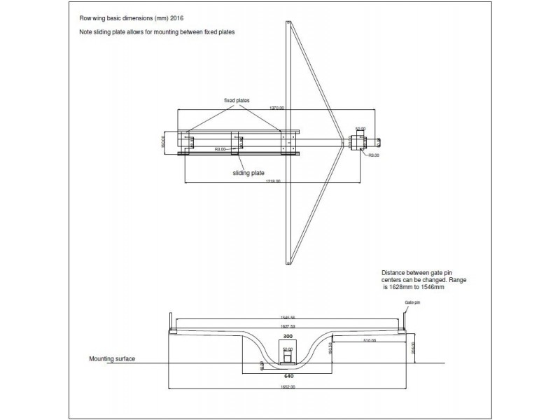 Boat Seat Dimensions : Sliding seat rowing unit