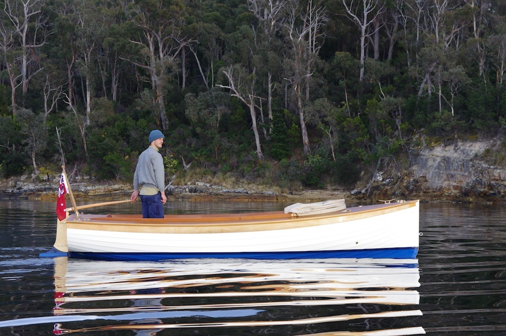 classic launch Joanie on the D'Entrecasteaux Channel