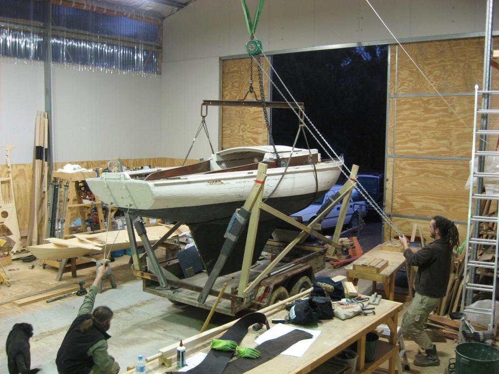 Carvel sloop